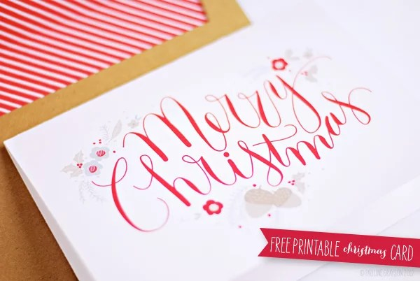 Free Printable Christmas Cards POPSUGAR Smart Living