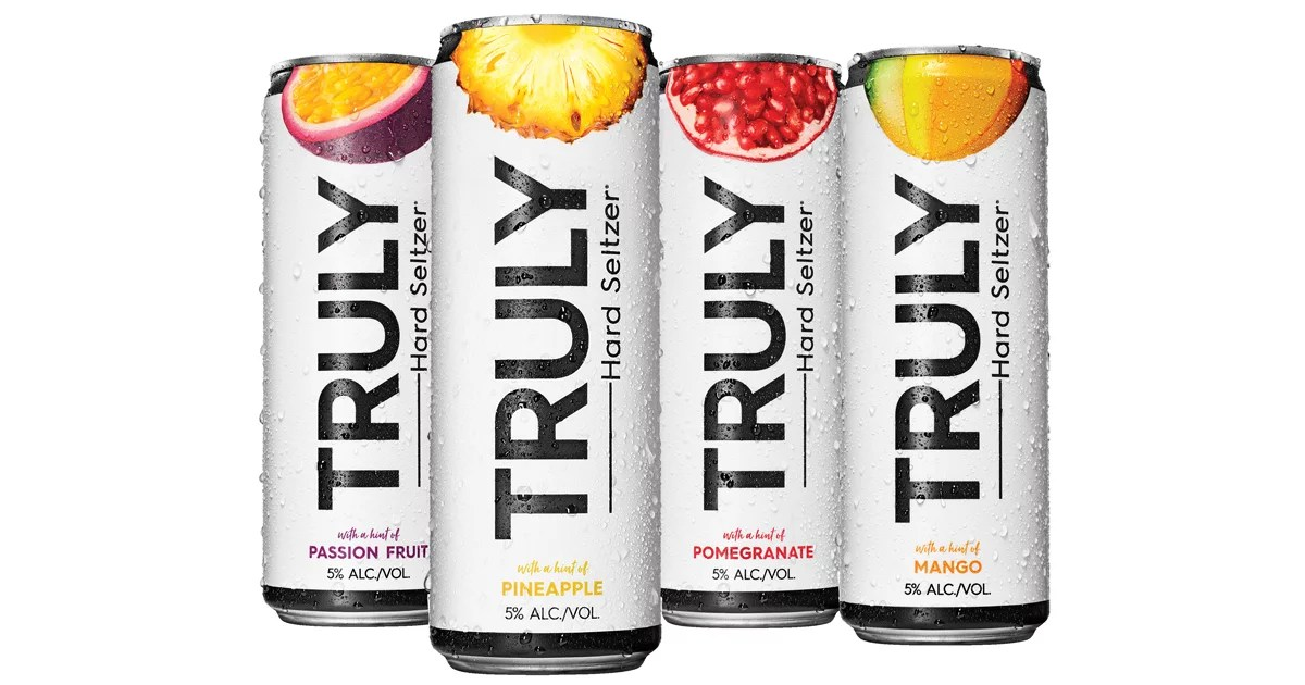 Truly Truly Truly Hard Seltzer Tropical Mix Pack | Popsugar Food
