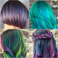 Galaxy Hair Color Ideas | POPSUGAR Beauty