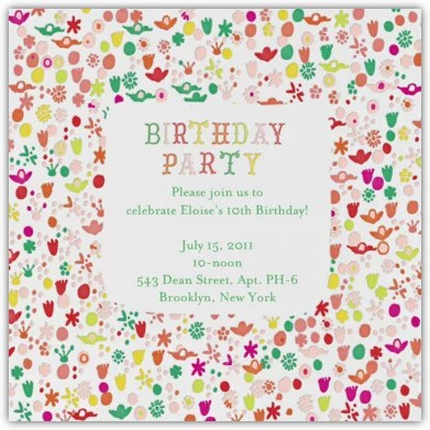 Unique Birthday Party Invitations For Kids POPSUGAR Family