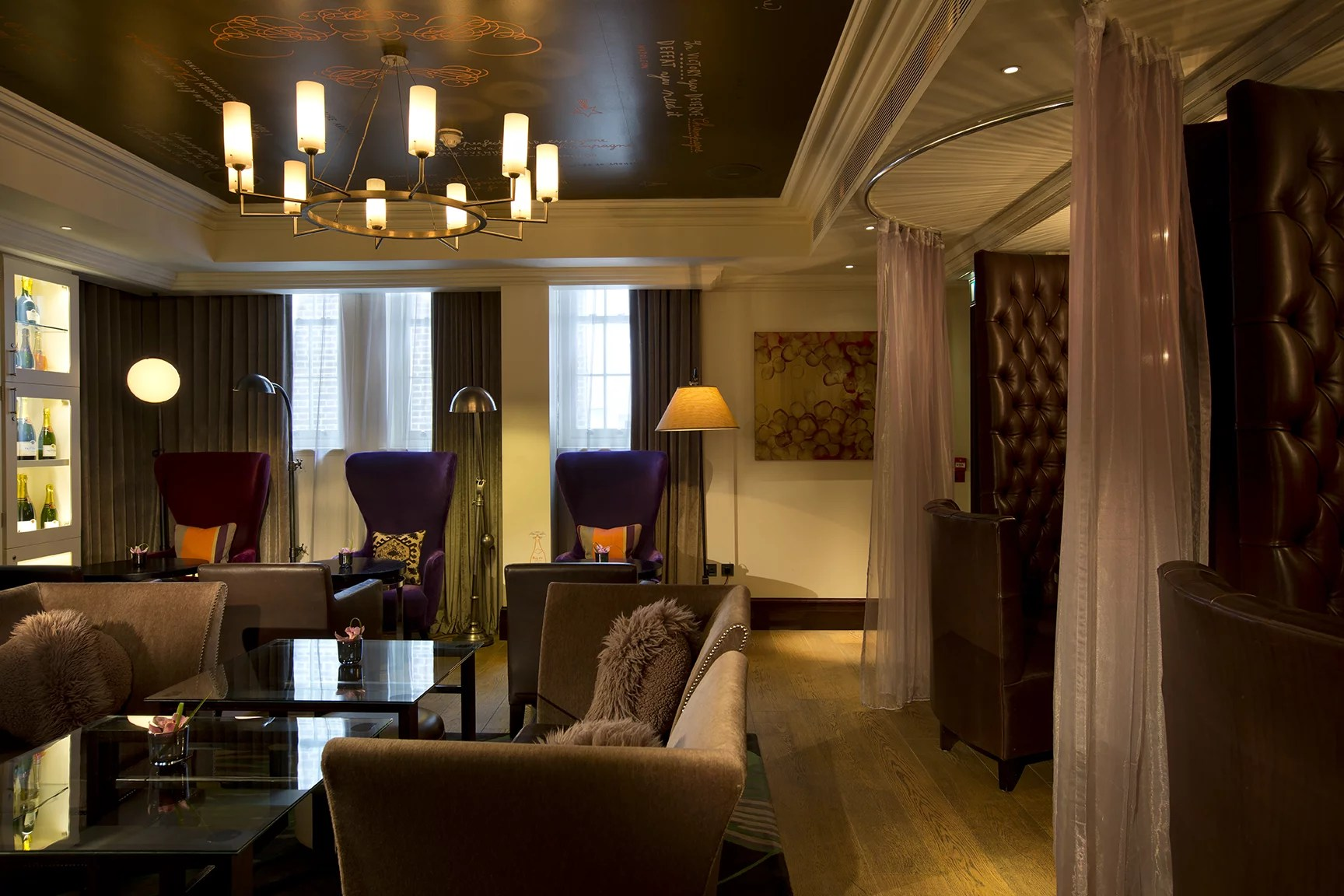 Champagne Salon The Arch London Hotel Review Popsugar Middle East Love