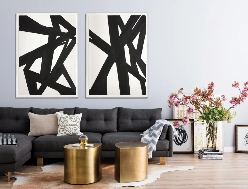 Wall Prints For Living Room Australia How To Match Art To Different Home Decorating Styles Popsugar