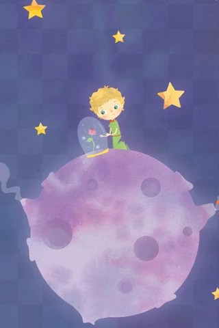Piccolo Wallpaper Iphone The Little Prince Tends To His Most Beloved Possession