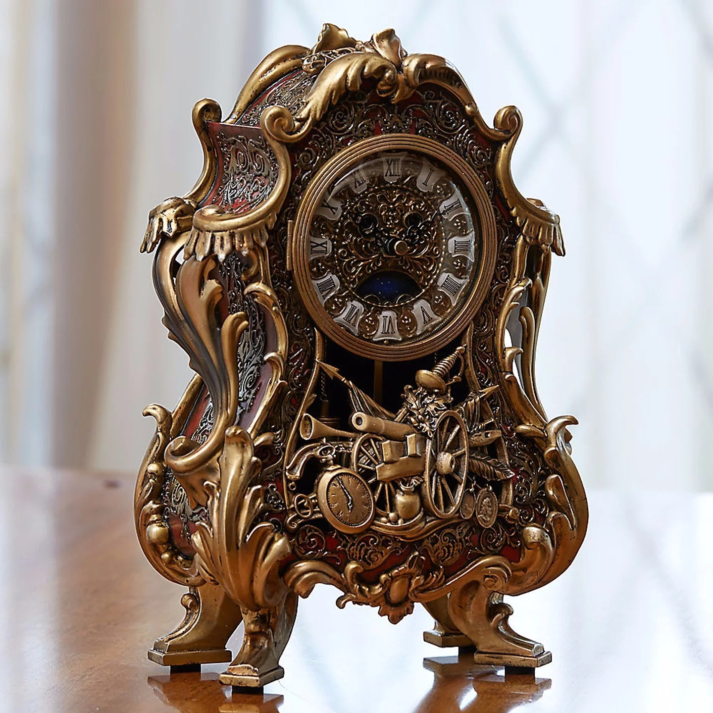 Buy Clock Where To Buy Beauty And The Beast S Clock And Candelabra