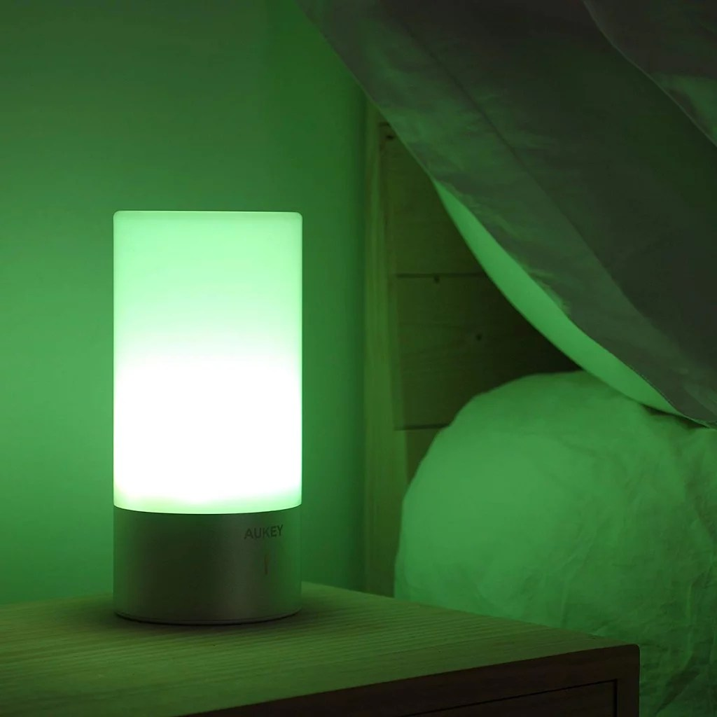 Cool Bedside Lamps Aukey Touch Sensor Bedside Lamps Cool Gadgets On Amazon 2019