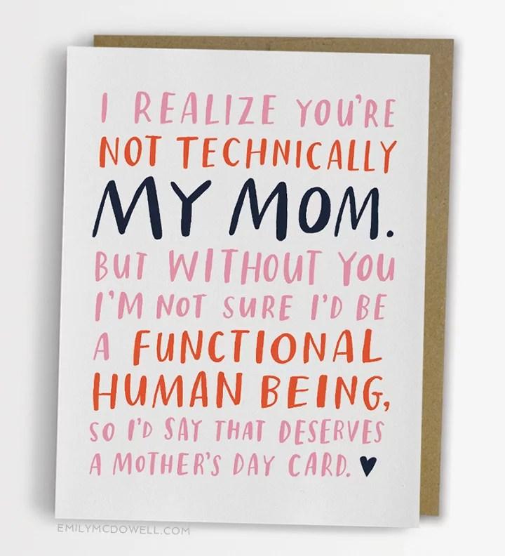 Alternative Mother\u0027s Day Cards POPSUGAR Moms Photo 5 - mother sday cards