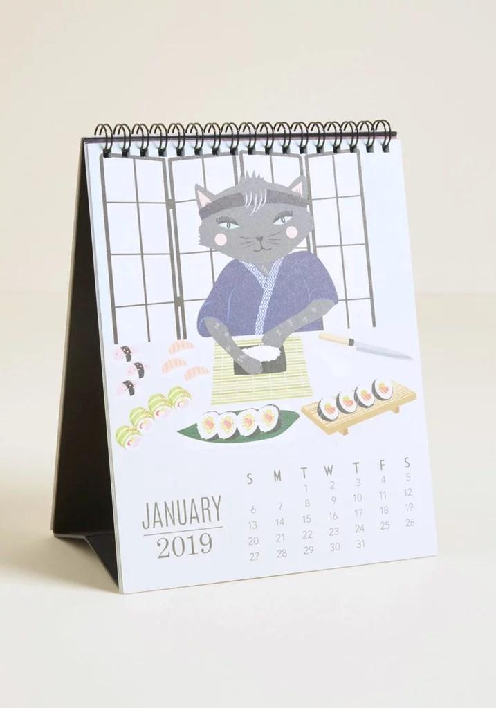 Paper Source Do It Year-self 2019 Desk Calendar Best Cheap Gifts