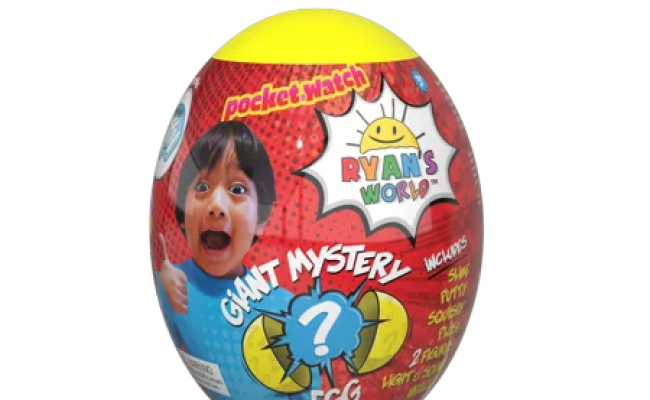 Ryan S World Giant Mystery Egg Top Toys Walmart 2019 For