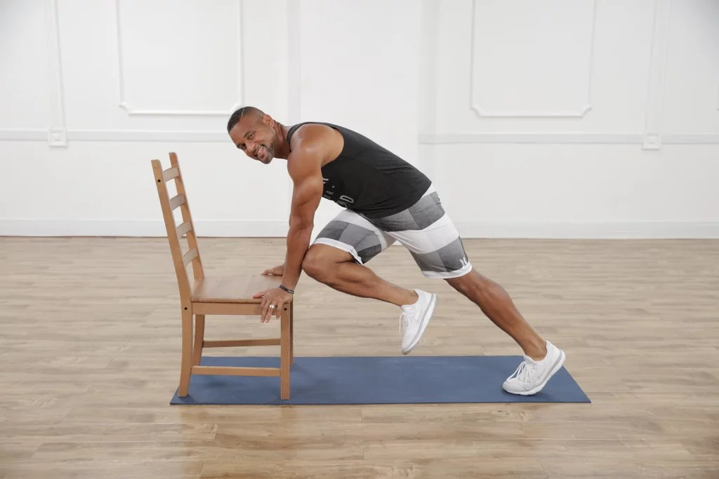 Elbow To Knee Mountain Climber Seated Ab Exercises From