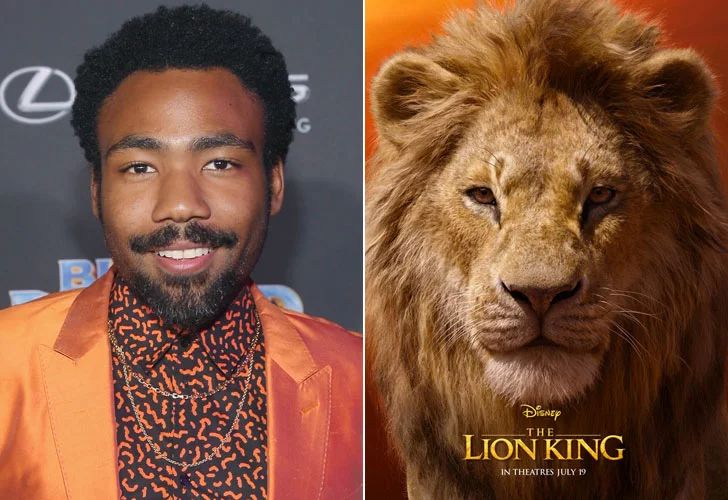 cast of the lion king movie 2019