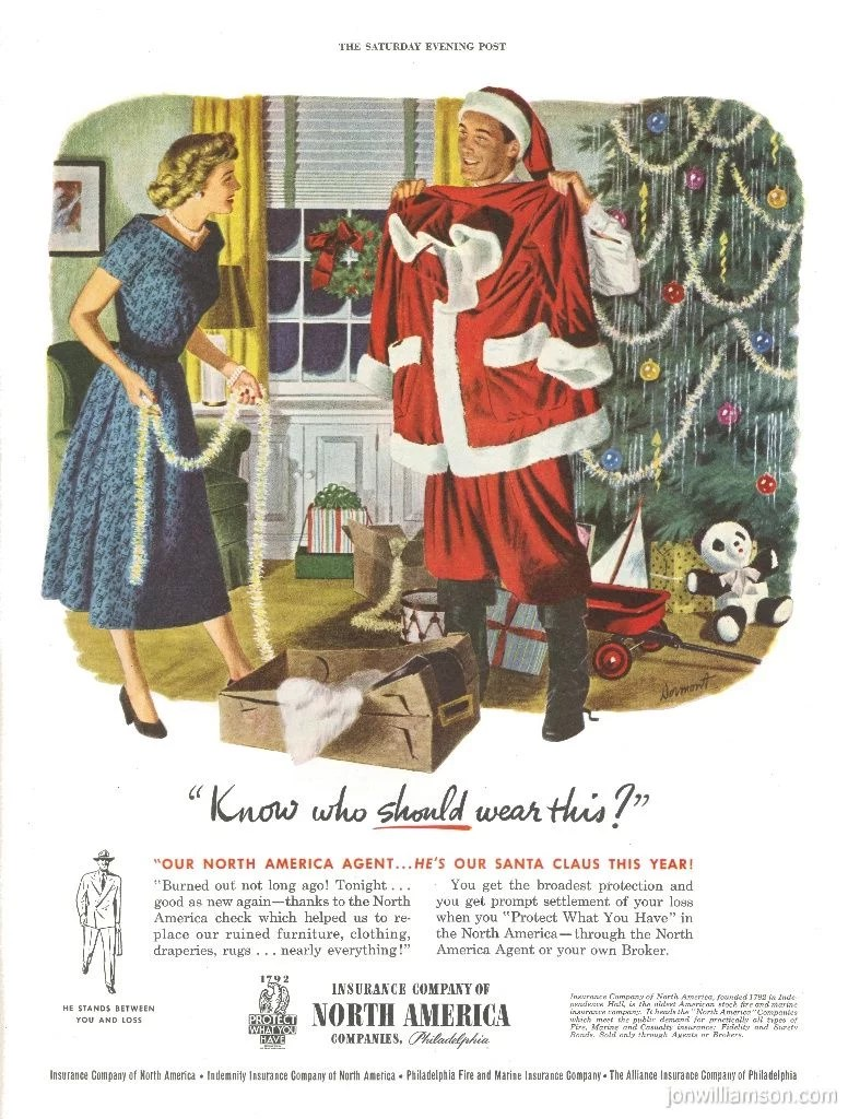Vintage Bad Copy No Who 20 Bad Vintage Christmas Ads Popsugar Australia