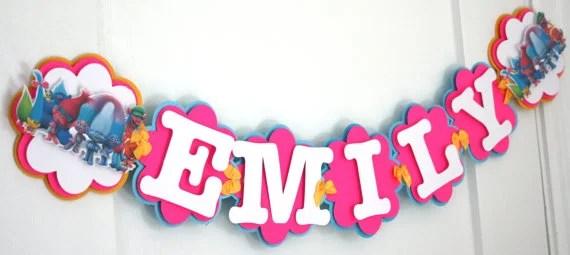 birthday name banner - Selol-ink