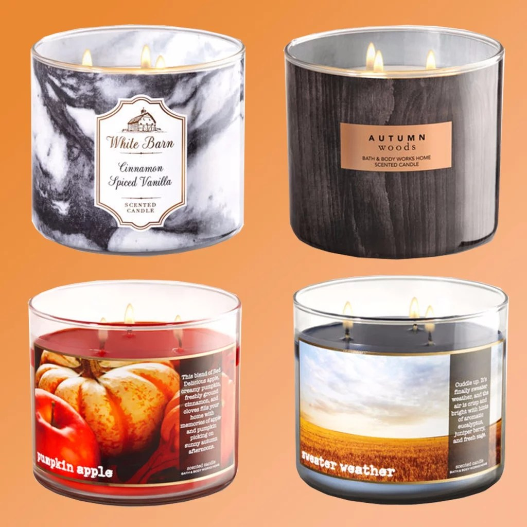 Best Scented Candles Bath And Body Works Fall Candles 2017 Popsugar Home