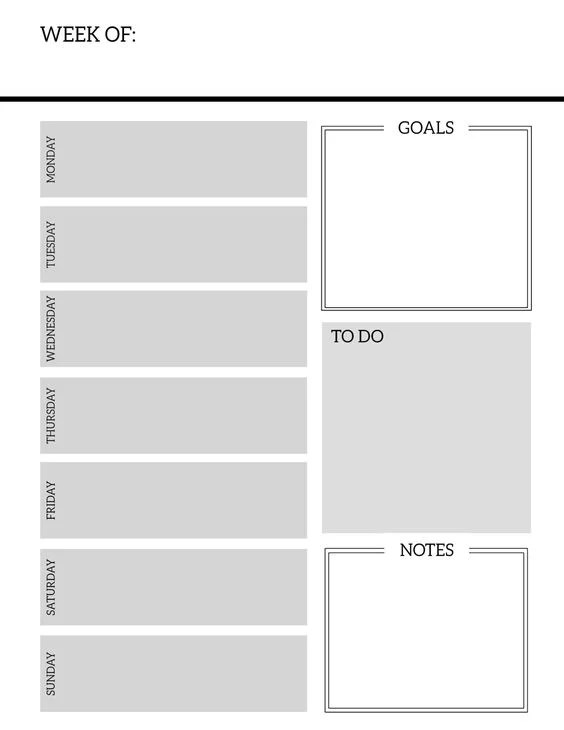 Download Paper Trail Design Weekly Planner Pages Free Printable