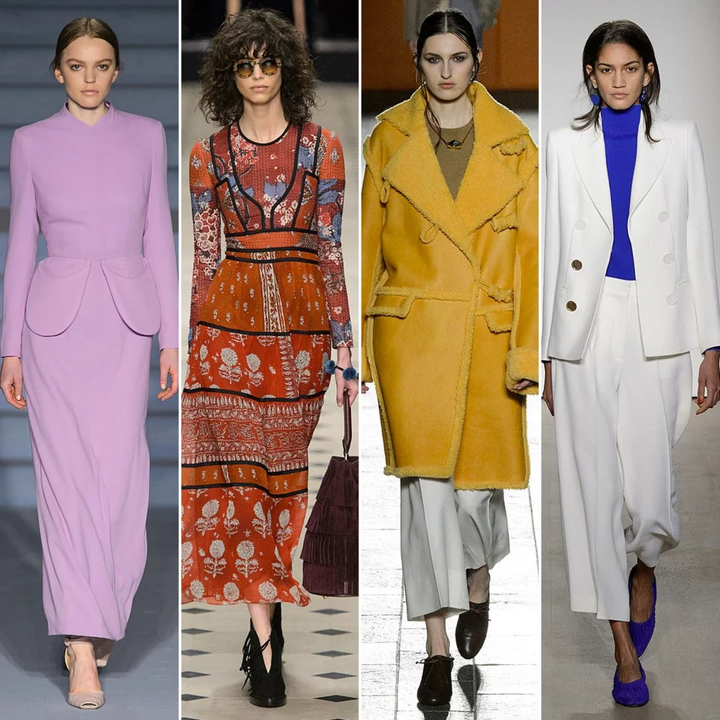 Trend Wandfarben 2015 London Fashion Week Fall 2015 Trends | Popsugar Fashion