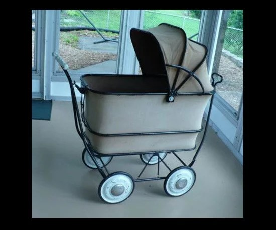 Car Seat Stroller How Long A 1940s Big Buggy Pram Stroller Collapsible Pictures Of