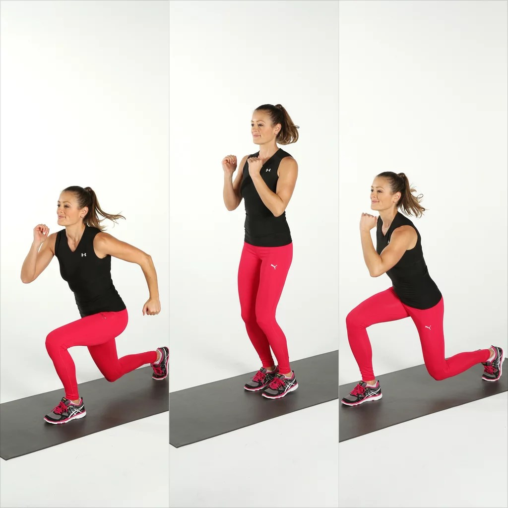 Jumping Fitness Jumping Squat Workout Popsugar Fitness