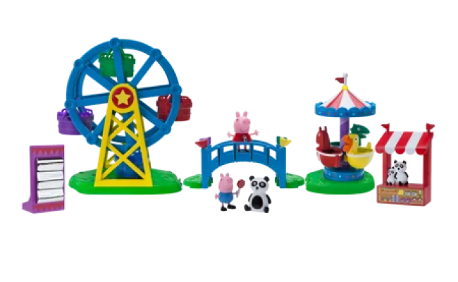 Peppa Pig Fun Fair Playset Best Toys Walmart 2018