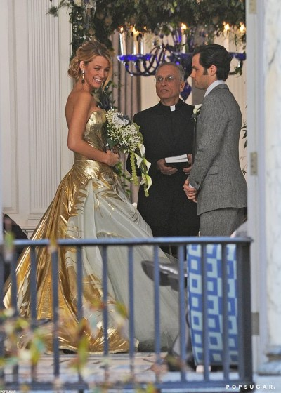 Blake Lively's Wedding Dress on Gossip Girl | Pictures ...