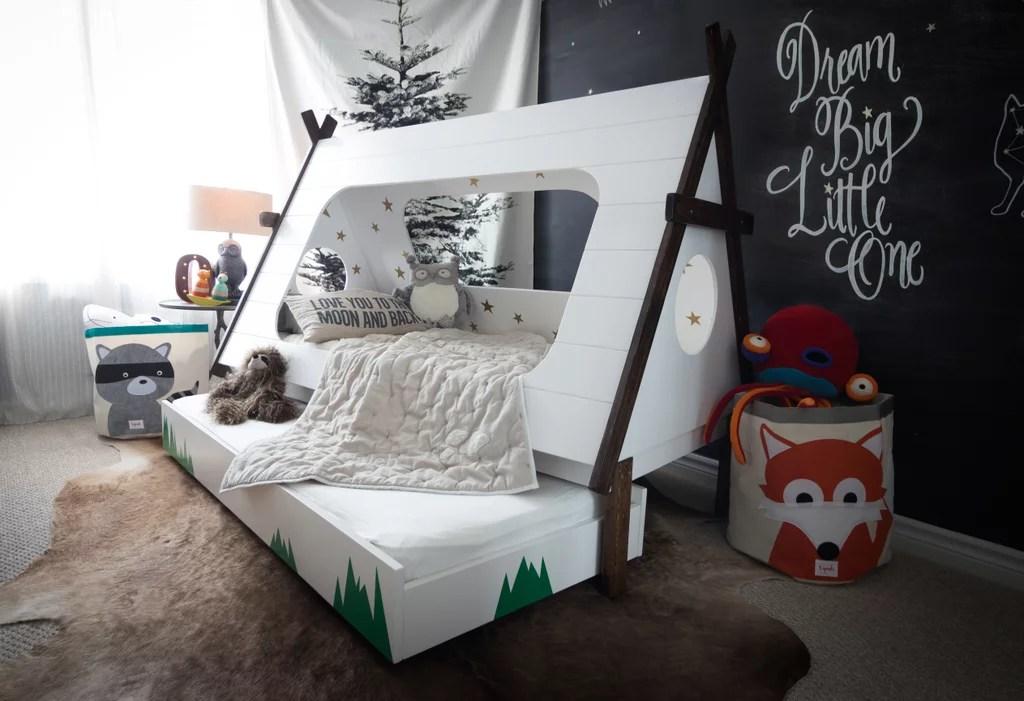 Diy Tepee Kids39 Bed Popsugar Home Australia