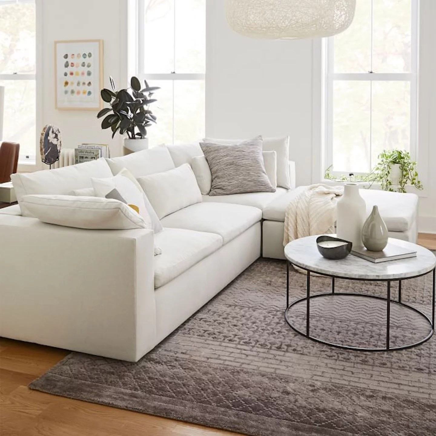 Best And Most Comfortable Sectional Sofas 2021 Popsugar Home
