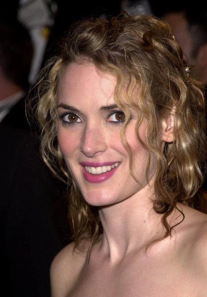 Colors In Dirty Blonde Hair Winona Ryder With Dirty Blond Hair What Is Winona Ryder