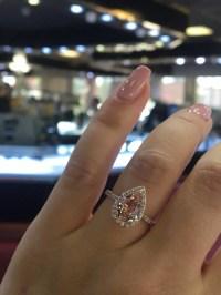 Rose Gold Morganite Ring | Engagement Rings on Etsy ...