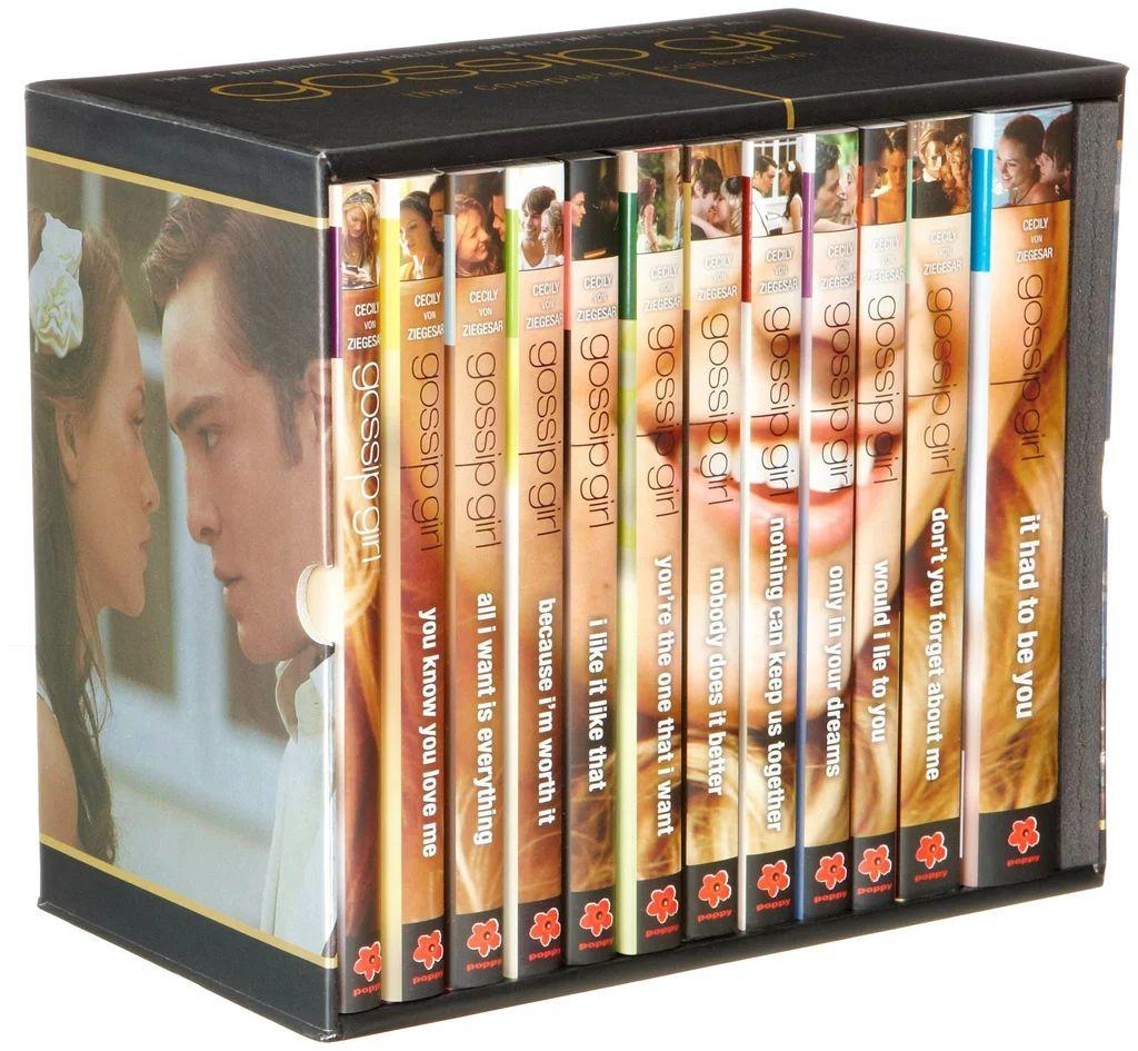 gossip girl books complete set