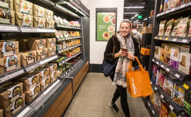 What Do Amazon Go Grocery Stores Look Like Popsugar Moms