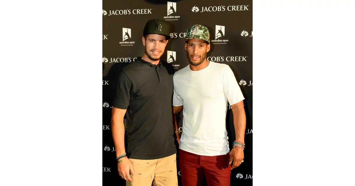 AFL players Ben Stratton and Josh Gibson hit up the Jacob\u0027s Creek