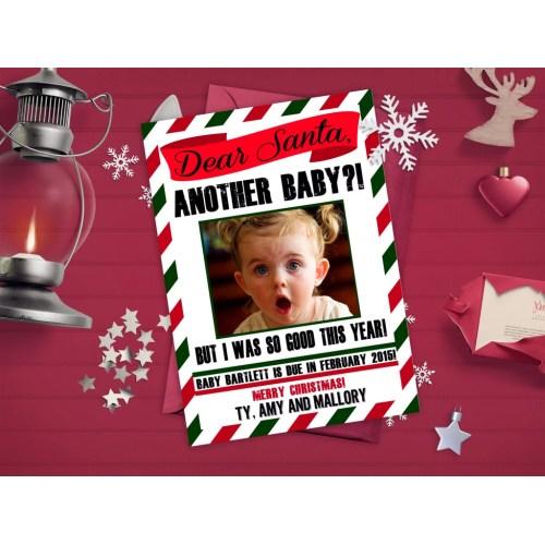 Medium Crop Of Christmas Pregnancy Announcement
