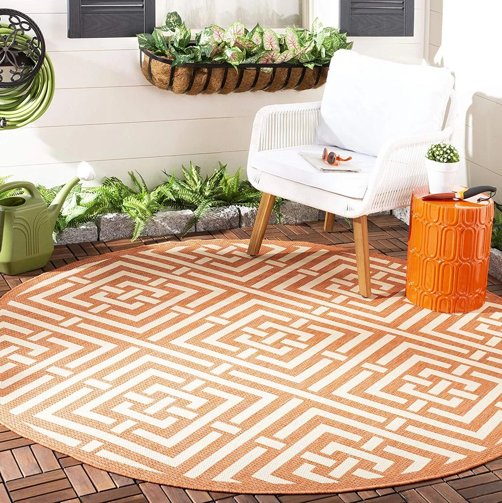 Safavieh Courtyard Safavieh Courtyard Outdoor Area Rug Best Cheap Outdoor Rugs