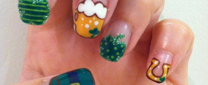 Diy This Festive St Patrick39s Day Nail Art Popsugar