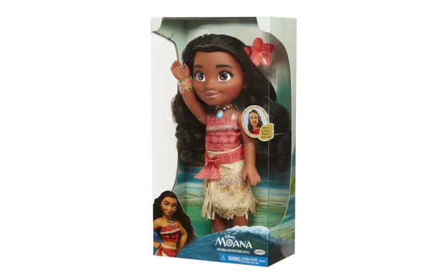 Disney Moana Adventure Doll Gift Guide For 2 Year Olds