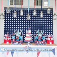 Printable Fourth of July Party Decorations | POPSUGAR Moms