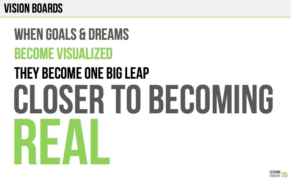 Make a Vision Board to Better Visualize Your Dreams Best Life - vision for career