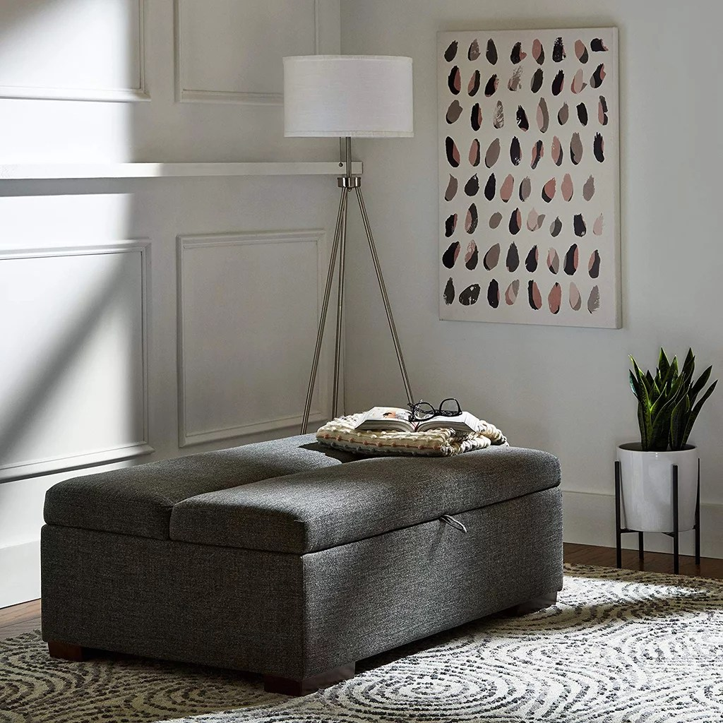 Amazon Sofa Bed Grey Rivet Fold Modern Ottoman Sofa Bed Best Furniture From Amazon