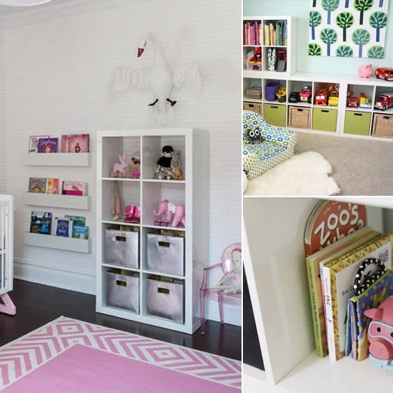 Pale Pink Wallpaper For Girl Nursery Ikea Expedit Bookshelves Popsugar Moms