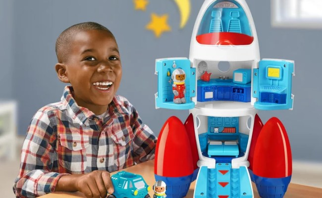 Lakeshore Play Explore Rocket Gift Guide For 3 Year