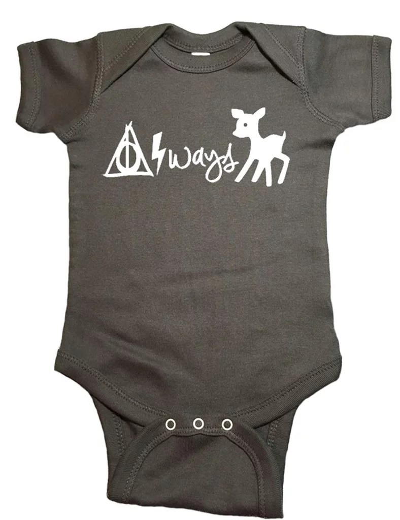 Babyone Baby Jogger Harry Potter Baby One Piece Always Bodysuit Harry Potter Baby