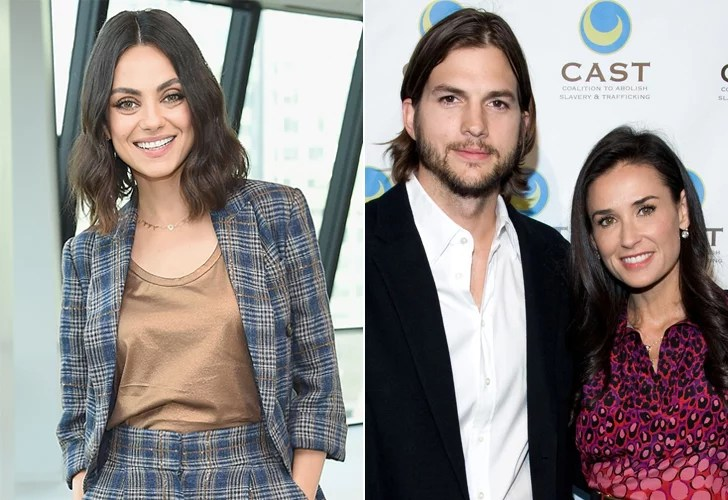Kucher Mila Kunis's Quotes About Ashton Kutcher And Demi Moore