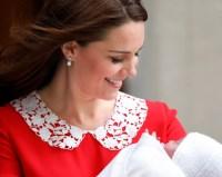 Kate Middleton's Pearl Earrings Leaving the Hospital ...