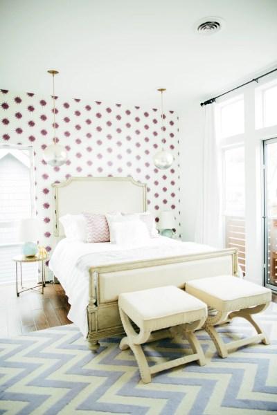 Wallpaper an Accent Wall | Ingenious Designer Decorating Secrets That Won't Break the Bank ...