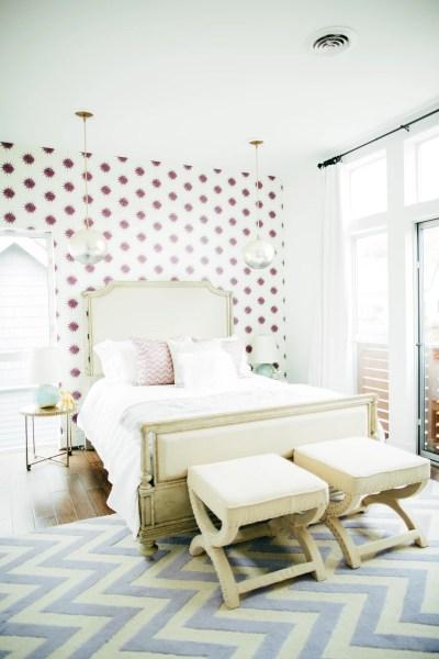 Wallpaper an Accent Wall | Ingenious Designer Decorating Secrets That Won't Break the Bank ...