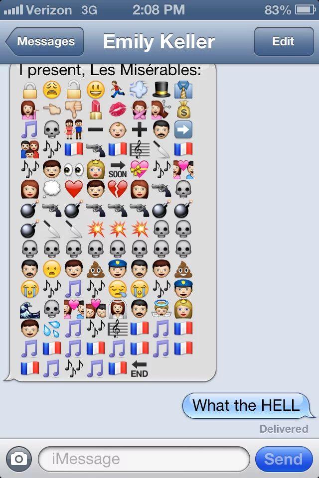 funny emoji texts copy
