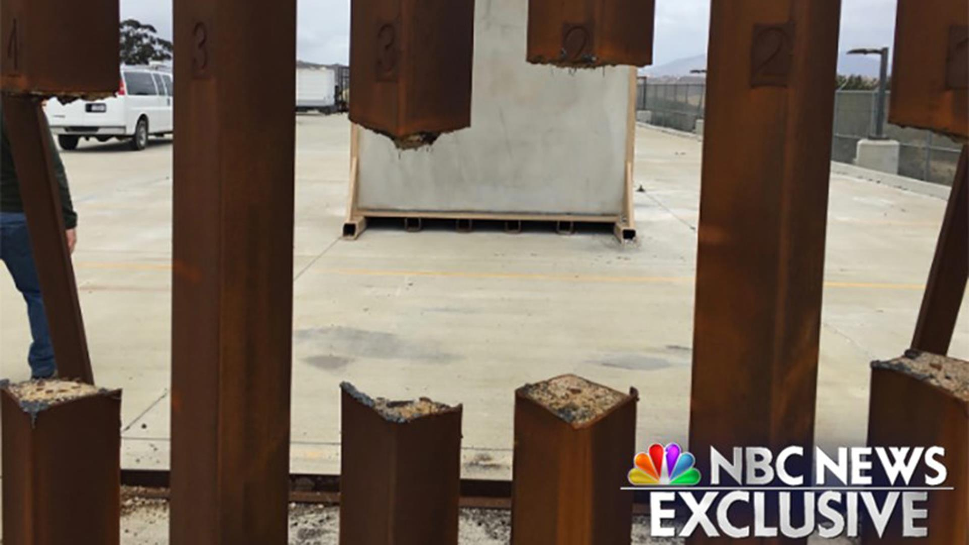 Slat Walls Dhs Testing Of Steel Slat Border Wall Prototype Proved It Could Be Cut Through