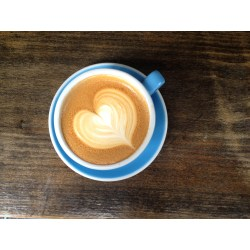 Small Crop Of Coffee Cup Heart