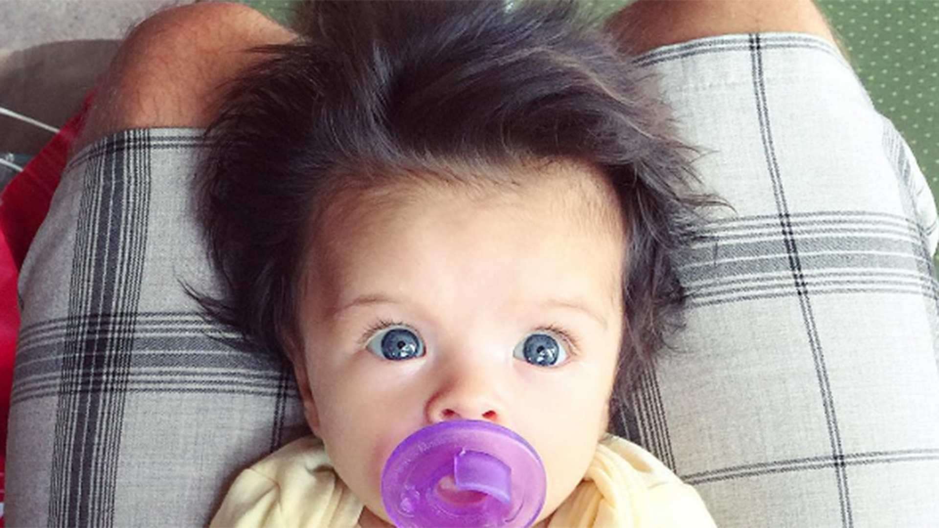 Baby Lot Baby's 'glamorous' Head Of Hair Takes Internet By Storm