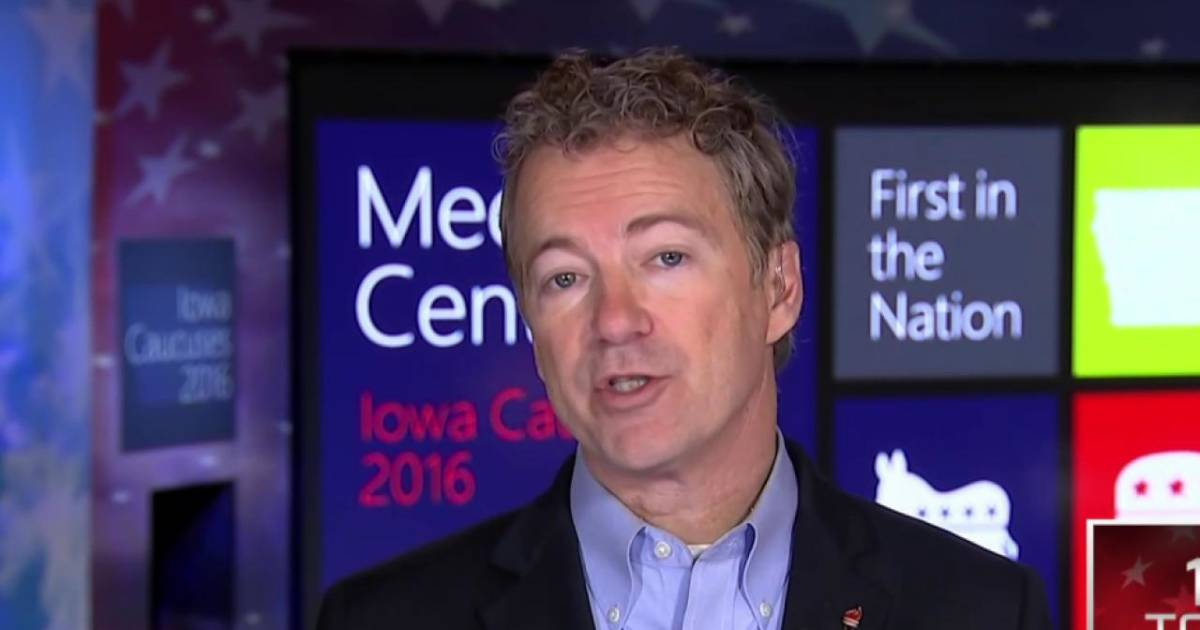 Make Up Rand Rand Paul: Trump Will Make Gop A 'lily-white' Party