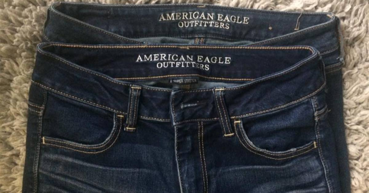 Is 4 the new 0!? Woman blasts American Eagle\u0027s jeans sizing